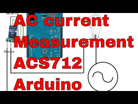 ac current measurement using acs712 hall effect current