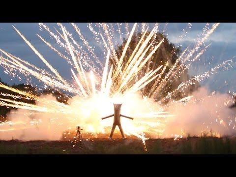 FIREWORK SAFETY SUIT-Stand INSIDE A Fireworks Display