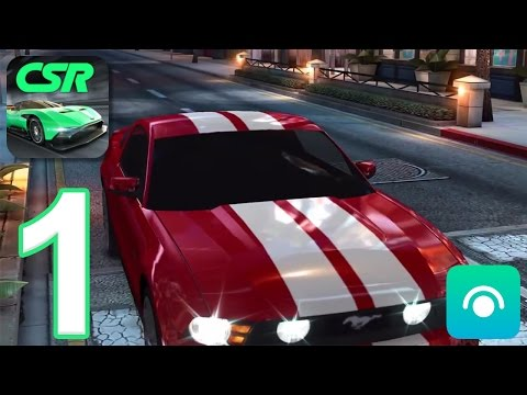 CSR Racing - Gameplay Walkthrough Part 1 - Tier 1 (iOS, Android)