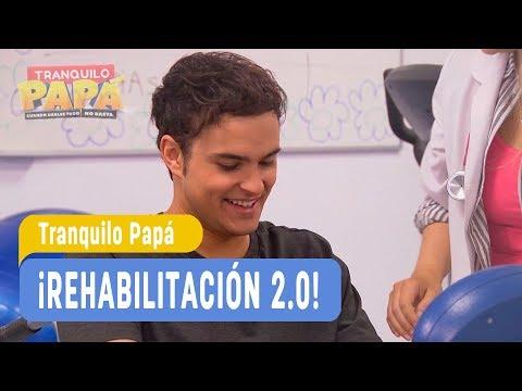 Tranquilo Papa - ¡Rehabilitación 2 0! - Santi y Laurita  - Capítulo 35