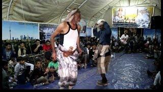 شايب يمني يتغلب على الشباب بالرقص الشعبي الفنان علي بصير افراح ال الرياشي