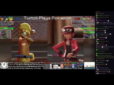 Twitch Plays Pokémon Battle Revolution - Matches #117802 and #117803