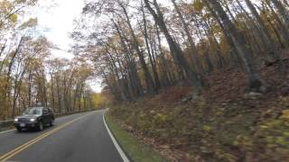 Skyline Drive, VA - 60 Miles in Ten Minutes (Timelapse)
