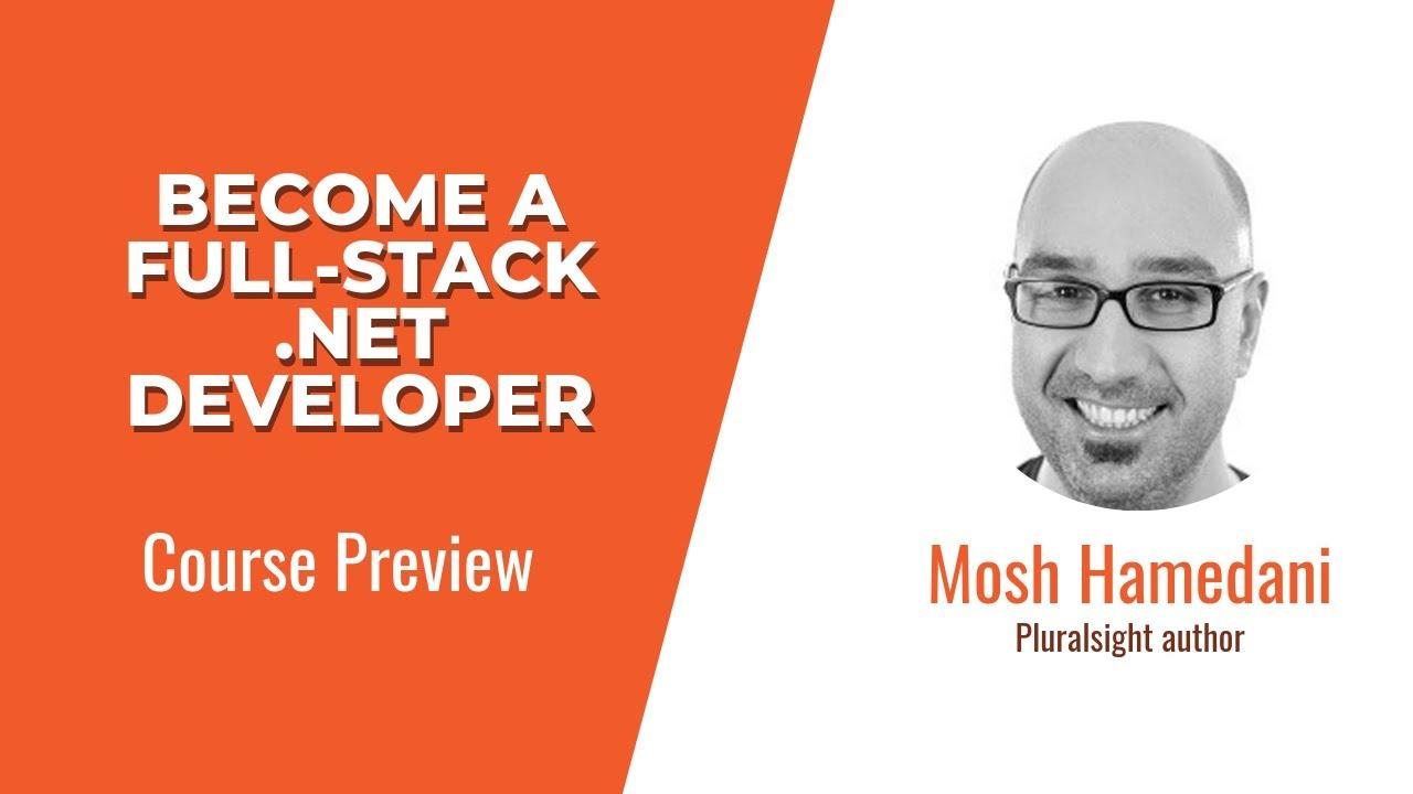 Become a Full-stack  NET Developer | Pluralsight