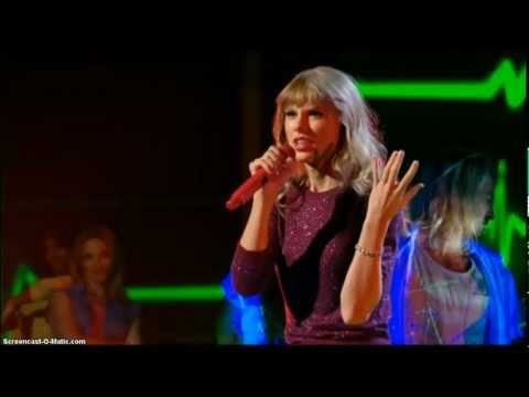 Taylor Swift - We Are Never Ever Getting Back Together - 2012 X-Factor HD