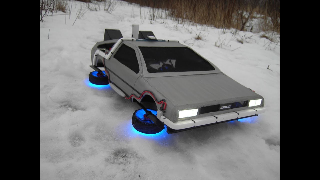 """Flying Time Machine from the movie """"Back to the Future ..."""