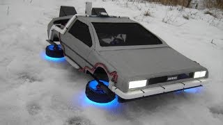 "Flying Time Machine from the movie ""Back to the Future"" from Native18"