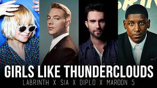Baixar Girls Like You vs. Thunderclouds (MASHUP) LSD, Maroon 5