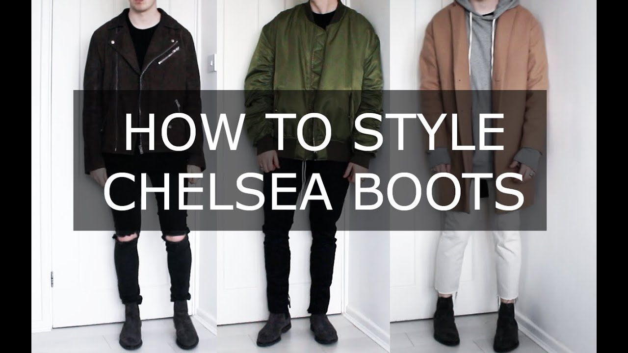 How To Style Chelsea Boots Mens Fashion Advice Gallucks Youtube