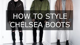 One of Gallucks's most viewed videos: How To Style Chelsea Boots | Mens Fashion advice| Gallucks