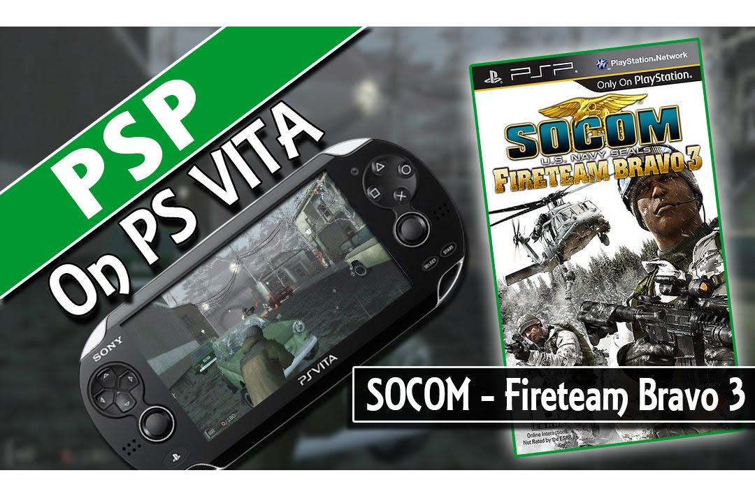 PSP On PS Vita: SOCOM US Navy Seals - Fireteam Bravo 3 (Classic ...