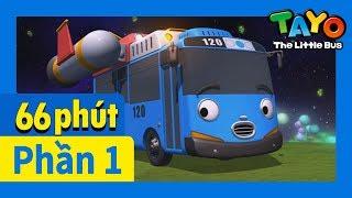 Tayo Phần1 Tập21-26 biên soạn l Tayo xe buýt bé nhỏ l Phim hoạt hình cho trẻ em