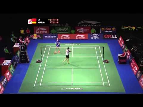 F - 2014 BWF World Championships - Li Xuerui vs Carolina Marin