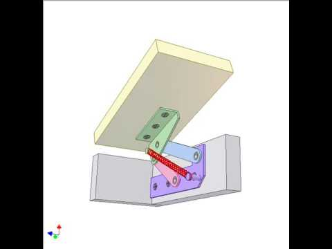Bench Seat Hinge 1 Youtube
