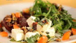 Как приготовить салат со свеклой и фетой. Рецепт - Основной инстинкт. Выпуск 15