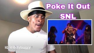 Nicki Minaj Poke It Out SNL (REACTION)