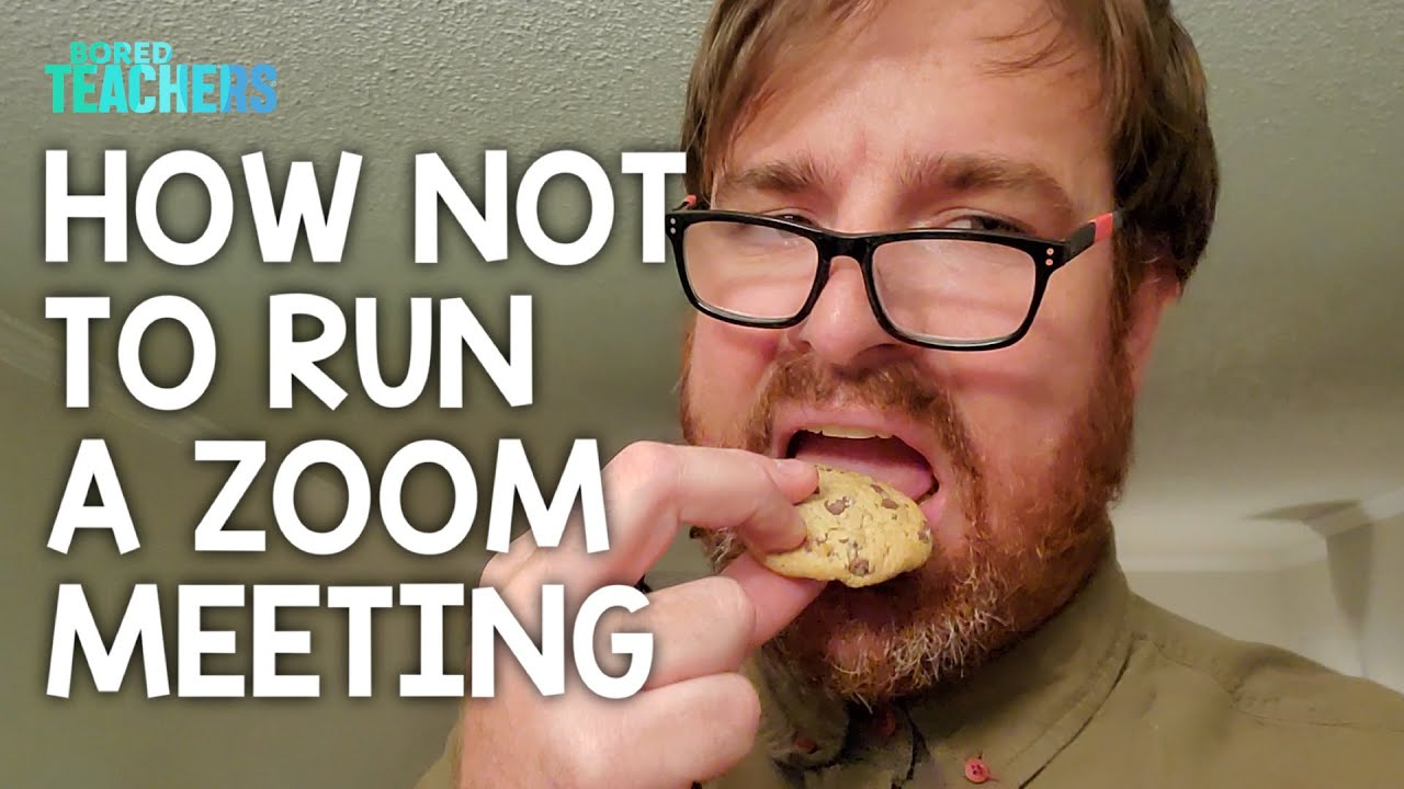 How Not to Run a Zoom Meeting