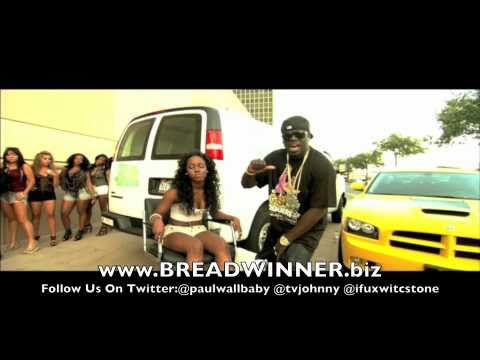 Brand new 2010 Official Stay iced up Music Video Paul Wall Feat. Tv Johnny & C.Stone the breadwinner