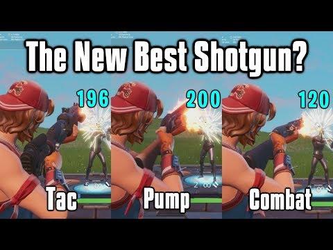 Legendary Tac Shotgun Vs Pump Vs Combat - What's The Best Shotgun In Fortnite?