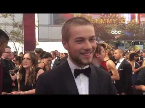 Connor Jessup 'American Crime' on 2016 Emmys red carpet