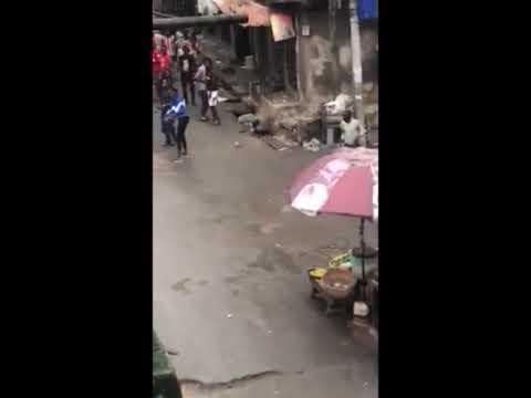 ⚠️WARNING: Viewer discretion advised. 📺Lagos-Gang War in Ricca, Lagos Island