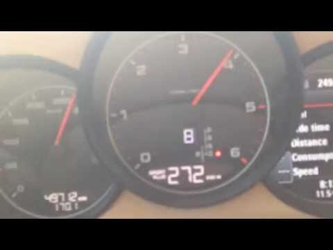 Panamera Diesel 278km/h Top Speed - YouTube