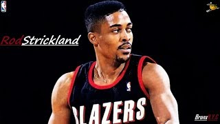 Rod Strickland (Most Underrated Point Guard in NBA History) NBA Legends