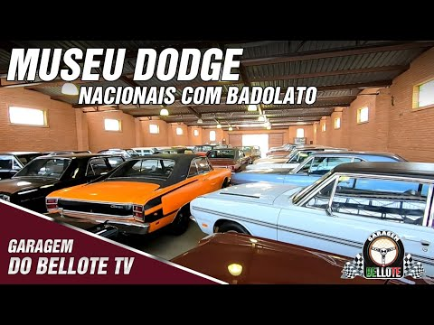 Museu Dodge, os modelos nacionais e mais história com o Badolato   Garagem Vlog #18
