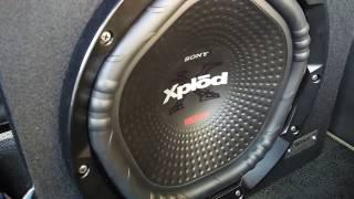 Sony XS-NW12022E Woofer + Xplod N1004 Amplifier + XS-GTF69382