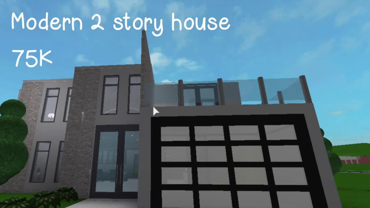 Modern 2 Story House
