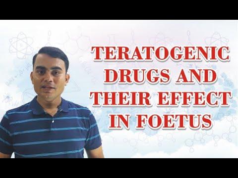 TERATOGENIC DRUGS AND THEIR EFFECT IN FOETUS | GPAT | NIPER | PHARMACIST