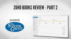 Zoho Books Accounting Software Review / Tutorial - Part 2