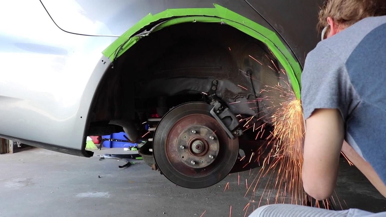 Installing Universal Fender Flares On My Mazdaspeed 6 Youtube
