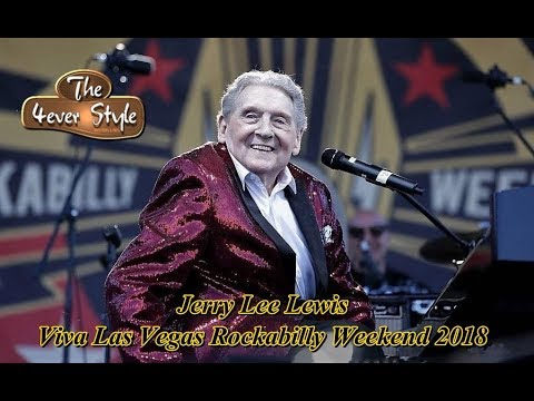 Jerry Lee Lewis   Viva Las Vegas Rockabilly Weekend 2018