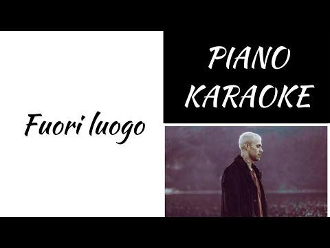 Fuori luogo - Mr. Rain - piano KARAOKE