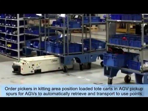 SAVANT 'Tape/Target-free' AGV-AGC Low Profile Tunneling Under Carts