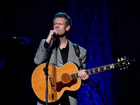 Randy Travis performing