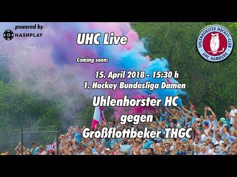 Uhc live - uhc vs. gthgc - 1. damen hockey bundesliga - 15.04.2018 - 15.30 h