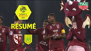 FC Metz - FC Nantes ( 1-0 ) - Résumé - (FCM - FCN) / 2019-20
