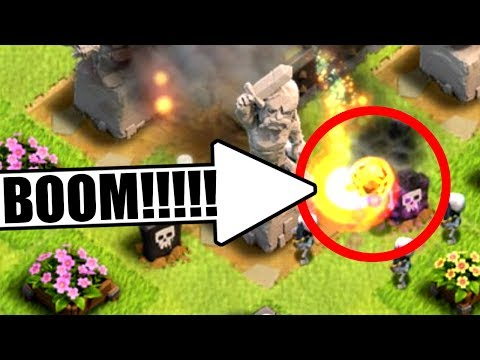SECRET FEATURE ADDED IN CLASH OF CLANS!! - EXPLODING..............TROOP!