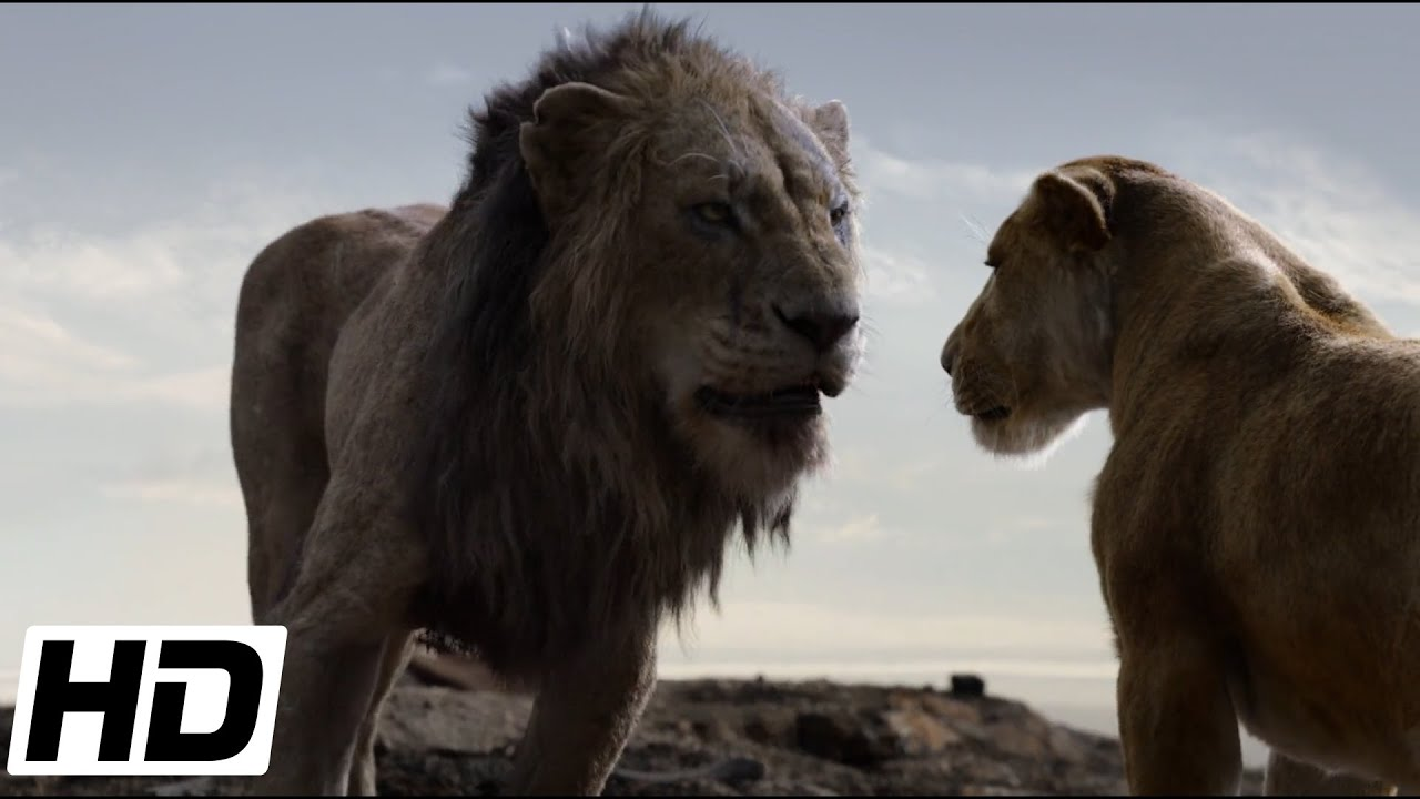 The Lion King 2019 Hd Scar Wants Sarabi To Be His Queen Youtube
