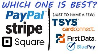 Paypal, Stripe, Square vs  Merchant Account - Which One Is Better - Merchant Account Processing