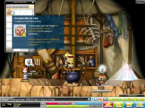 MapleSEA Premium Miracle Cubing On YSS Part 2