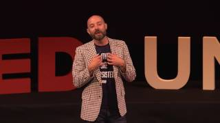The Physicality of Digital Media | Jordan Frith | TEDxUNT