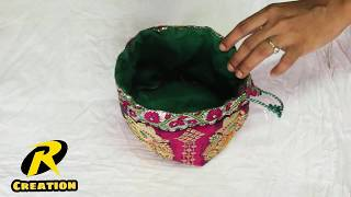 How to make Batua at home ( potli bag)    Just 5 Minuets