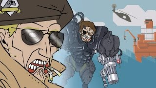 Metal Gear Solid: Phantom Pain - NUTTER BASE Parody Animation
