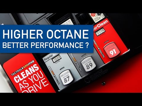 DO YOU NEED TO USE A HIGHER OCTANE FUEL ?