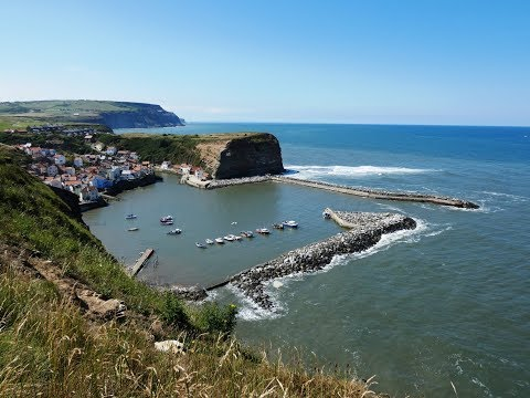 North York Moors National Park Coastal Walk   Staithes From Hinderwell Round