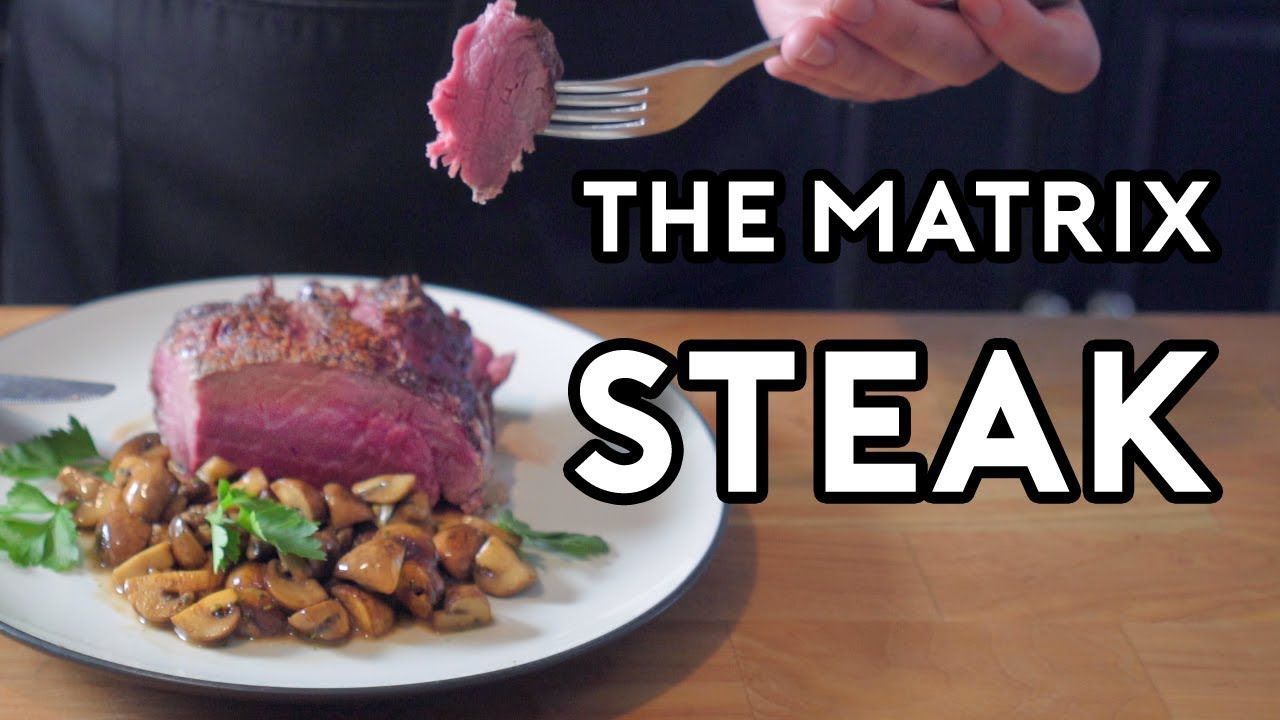Binging with Babish: Chateaubriand Steak from The Matrix