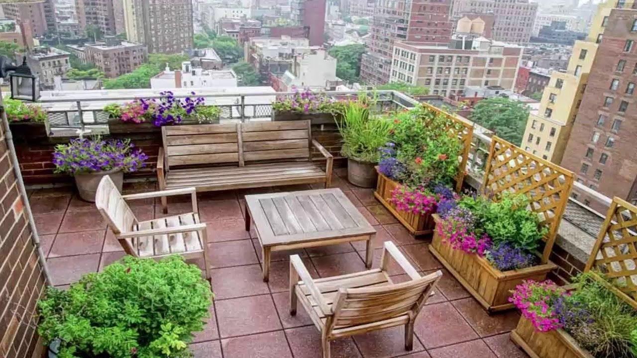 50+ Roof Terrace Design Ideas - Roof gardens & roof ...